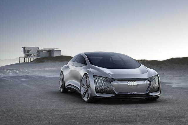 """画像: これはコンセプトカーの""""Audi Aicon""""。"""
