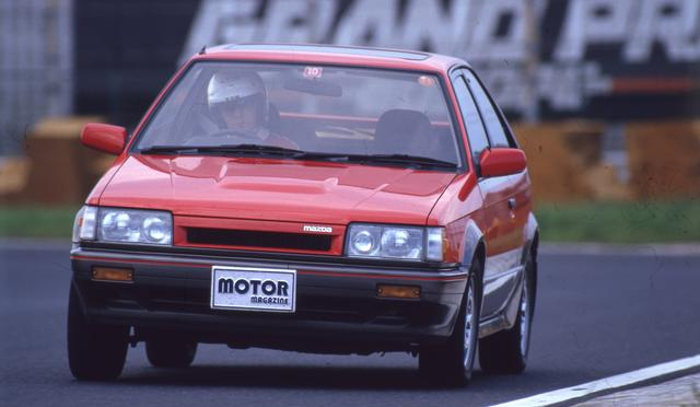 画像: 日本のGTインプレダイジェスト。ファミリア4WD・DOHCターボGT-X【1985年10月登場】