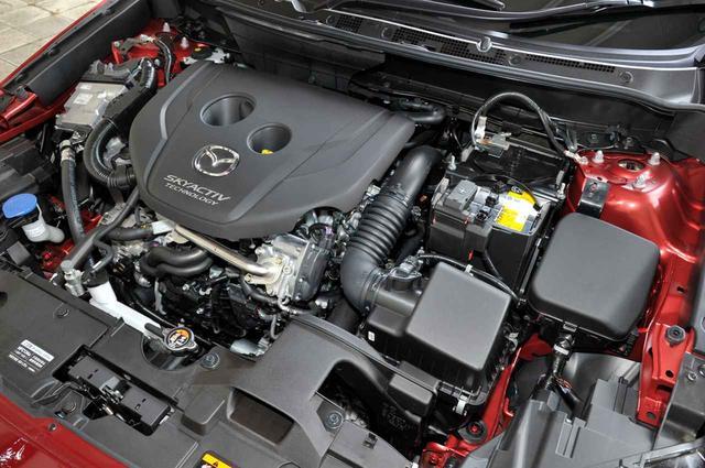 画像: 新型CX-3に搭載される1.8Lディーゼルターボエンジン。