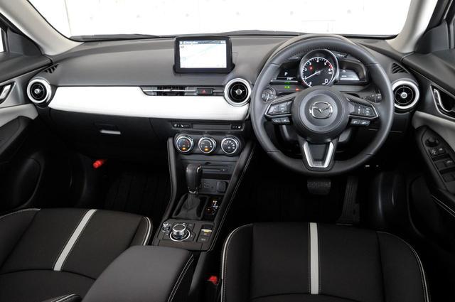 画像: 高級感を高められた新型CX-3のインテリア。これは特別仕様車「Exclusive Mods」。