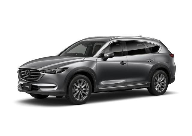 画像: CX-8。2017年12月14日発表 車両価格:319万6800円〜419万400円