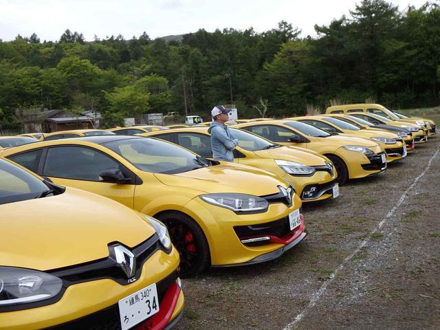 画像: カングーだけではなく、ほかのルノー車オーナーも多数参加。