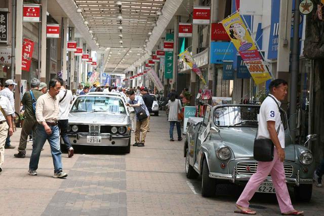 画像: 前回、前橋市通りアーケード商店街/弁天通り商店街の様子。アーケードになっているので、雨天でも安心。