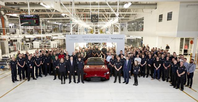 画像: イギリス、ゲイドンの工場で量産が開始されたニューアストンマーティン ヴァンテージ。