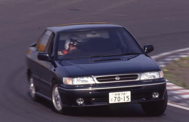 画像: 日本のGTインプレダイジェスト。レガシィGT【1989年10月登場】