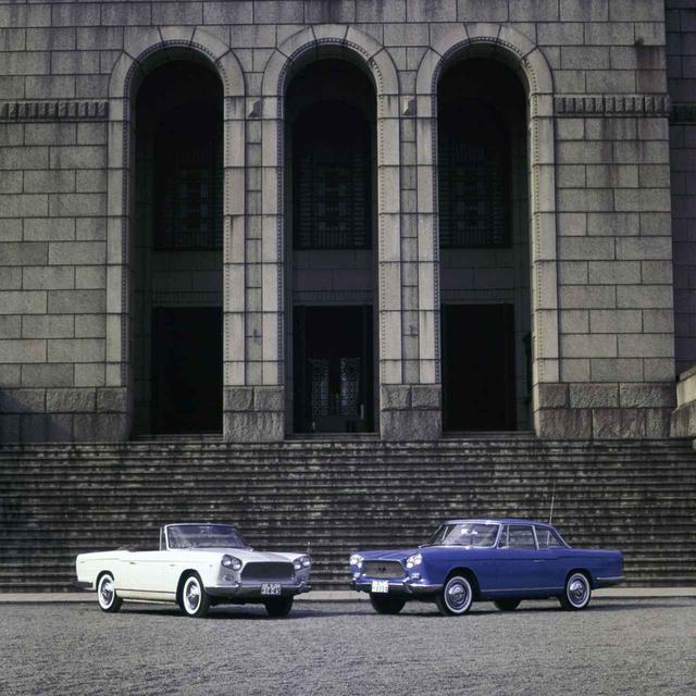 画像: 1962年に追加されたプリンス スカイラインスポーツ。車両価格185万円(クーペ)を現代の価格に換算すると約3000万円にもなるという。