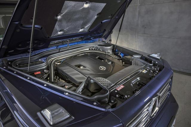 画像: 従来型にも搭載されていた4LのV8DOHCツインターボのスペックは変わらない。