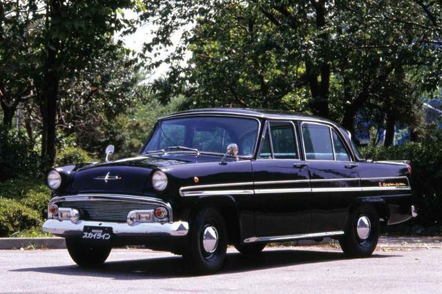 画像: プリンス スカイラインに日本車として初めてド・ディオンアクスルが採用された。