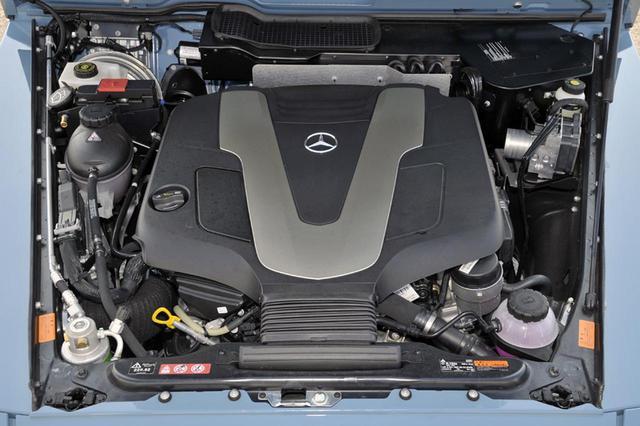 画像: 3LのV6ディーゼルターボでパワー的には十分だが、ガソリンのV8ターボやV12ターボも設定されている。