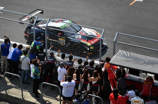 画像: 99号車GT-Rが総合優勝