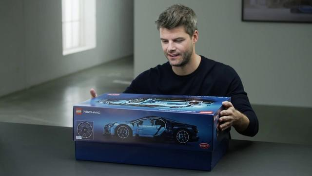 画像: LEGO Bugatti Chiron 42083 official Designer Video youtu.be