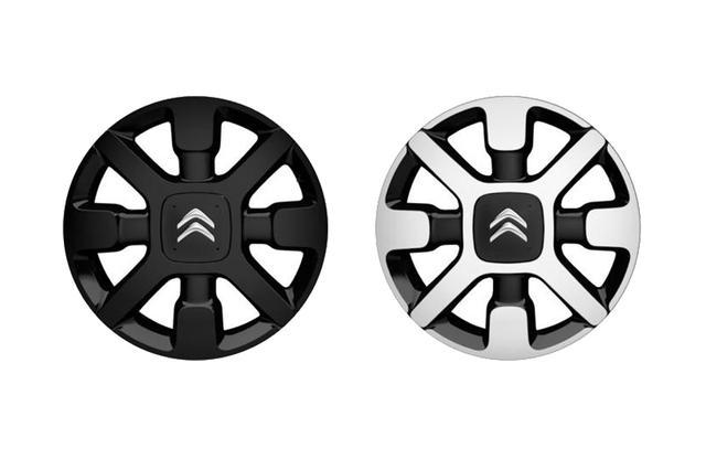 画像: シトロエンC3カフェエディションのボディカラーによってホイールカラーも異なる。