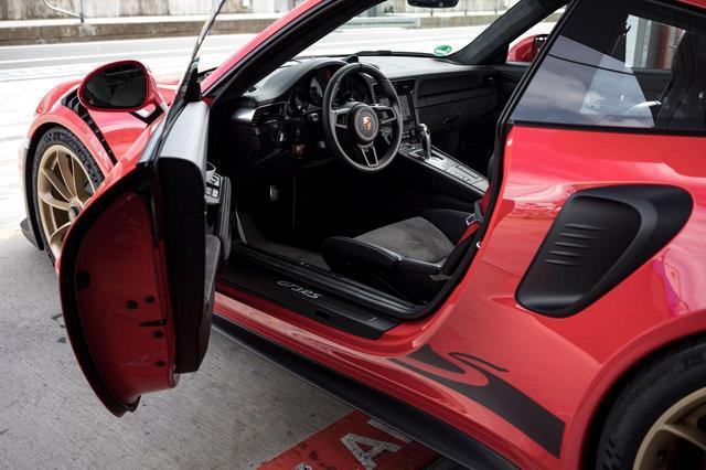 画像: ポルシェ911 GT3 RS。
