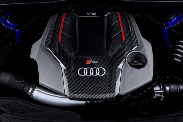 画像: 2.9LのV6ツインターボエンジンを搭載する。最高出力は450ps、最大トルクは600Nmを発生。