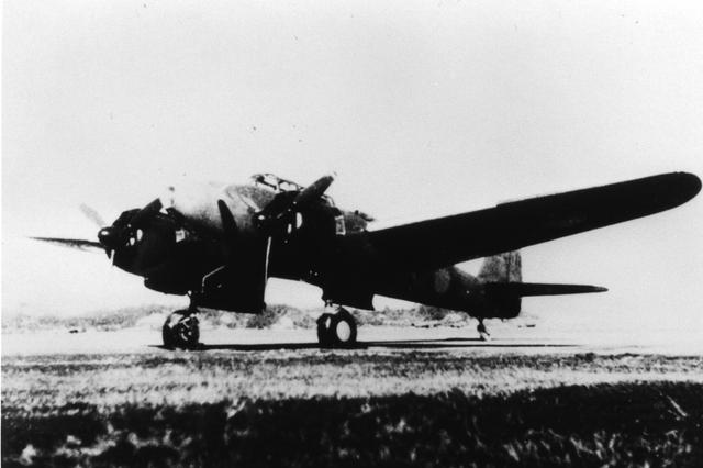 画像: 【夜間戦闘機・月光】偵察機から夜間戦闘機に改造され、1943年に海軍の制式採用機となる。陸偵/夜戦を合わせ486機が生産された。