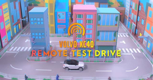 画像: VOLVO XC40 REMOTE TEST DRIVE