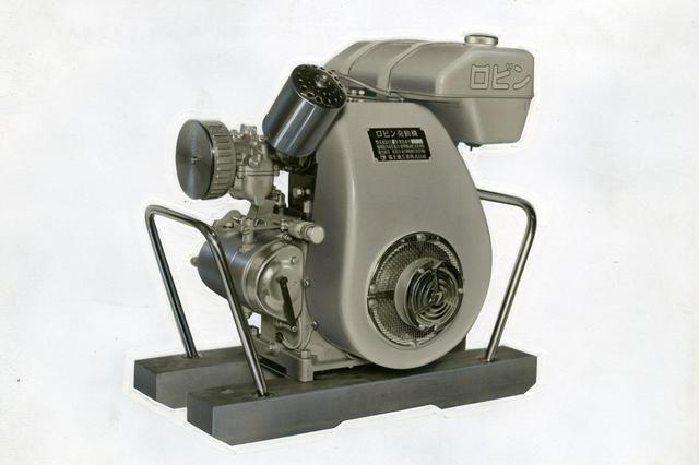 画像: 【ロビンKD11(汎用エンジン)】農業用エンジンとして1956年に発売したロビンKD11、12型。2輪/3輪車で苦戦した大宮製作所の救世主となった。
