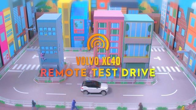 画像: VOLVO XC40 REMOTE TEST DRIVE www.youtube.com