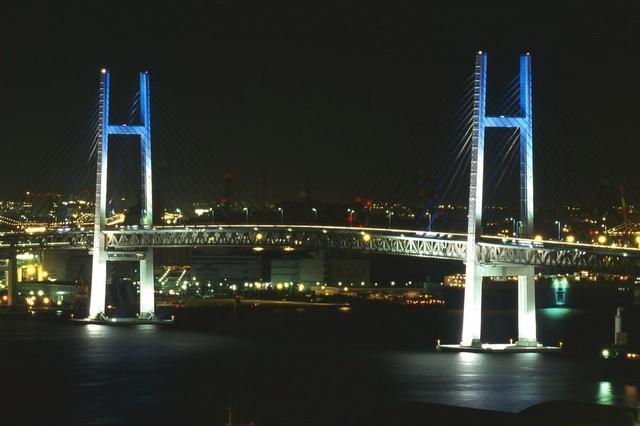 画像: 横浜ベイブリッジ(湾岸線)
