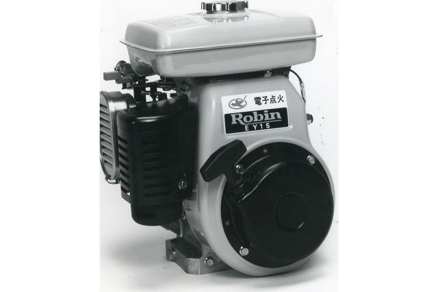 画像: 【汎用エンジン】1980年代以降の主力汎用エンジン・EY-15。海外での需要も多く、中近東・アジア・アフリカにも輸出された。