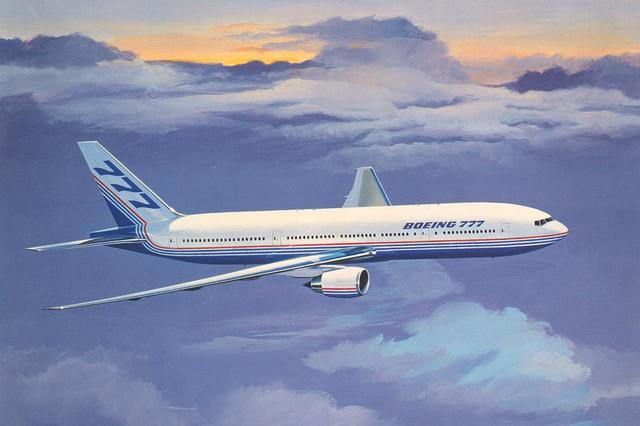 画像: 【ボーイング777】777プロジェクトでは、三菱重工、川崎重工の3社で全体の21%を製作。世界一の高い工作精度を実証した。