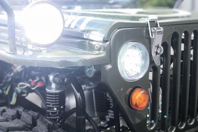 画像: ビッグフォースIIIのリニューアルで、ヘッドライトにLEDを採用。