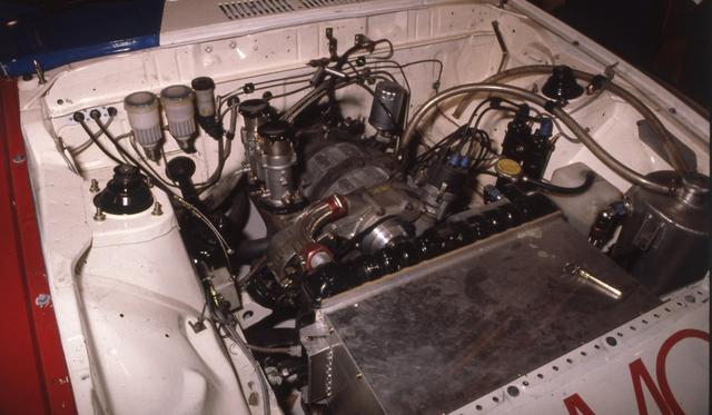 画像: エンジンは13B。NAで300馬力は立派なパワーですが、ライバルたちはそれ以上の馬力で立ちふさがりました。