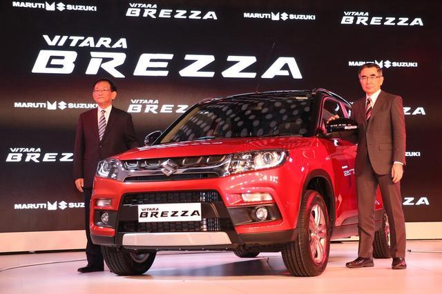 画像: マルチ・スズキ社が製造販売するSUV、ビターラ ブレッツァがインドのカー・オブ・ザ・イヤー2017を受賞。