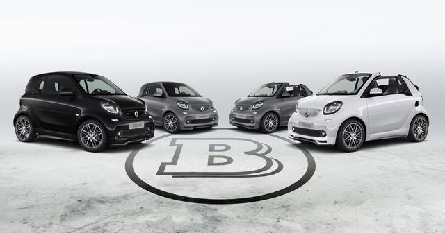 画像: ボディカラーは左がディープブラック、中央の2台がチタニアグレー、右がクリスタルホワイト。
