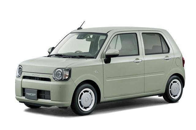 """画像: 最上級グレードの、G""""SA III""""(2WD)。ボディカラーはセラミックグリーンメタリック。"""