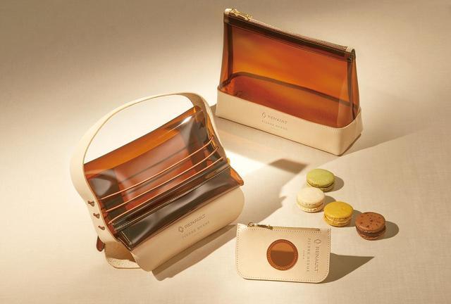 画像: 成約した人には、ルノーとピエール・エルメ・パリのコラボレーションで作られたマカロンバッグ/ポーチ/コインケースをプレゼント。