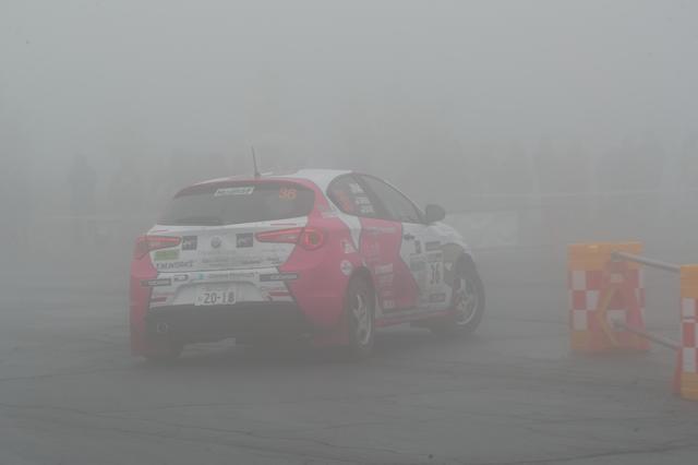 画像2: ◆6月10日<DAY2> 曇り時々小雨。そして濃霧。