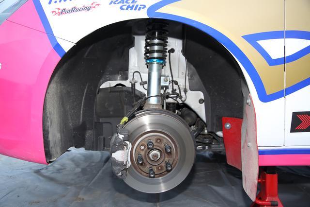 画像: ブレーキはウィンマックスがサポート。
