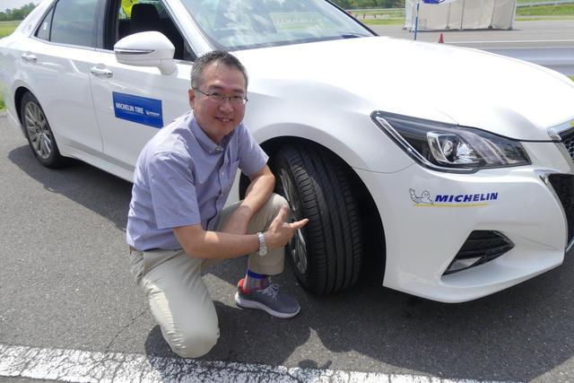 画像: レポーターはおなじみのモータージャーナリスト、瀬在仁志氏。