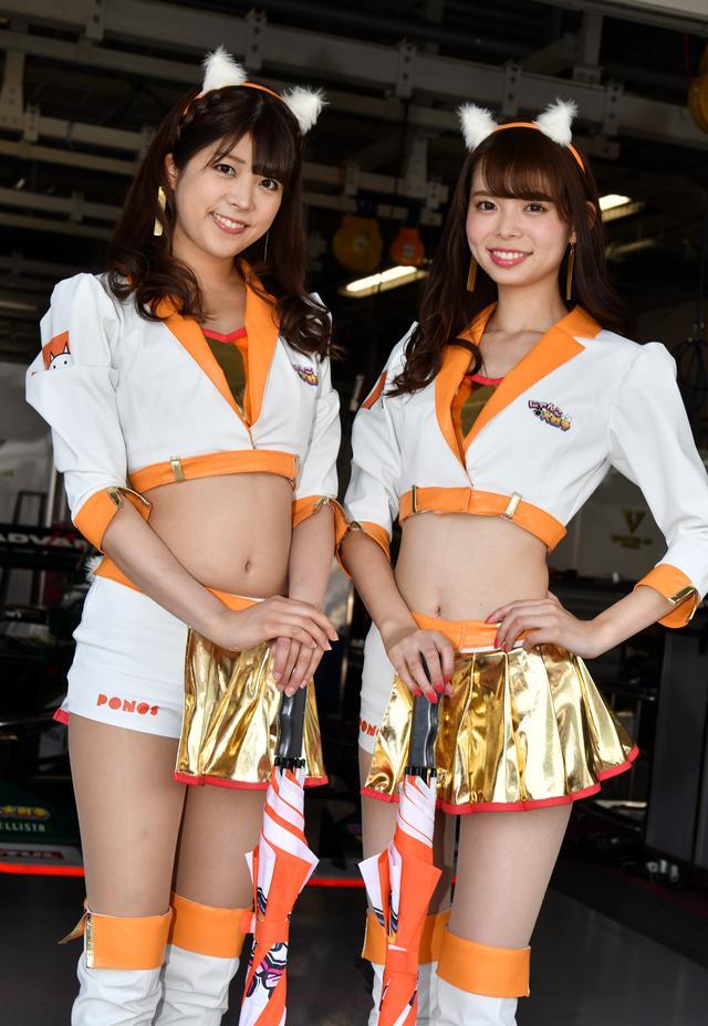 画像: 左 村上麻莉奈さん  右 北川瑛里奈さん