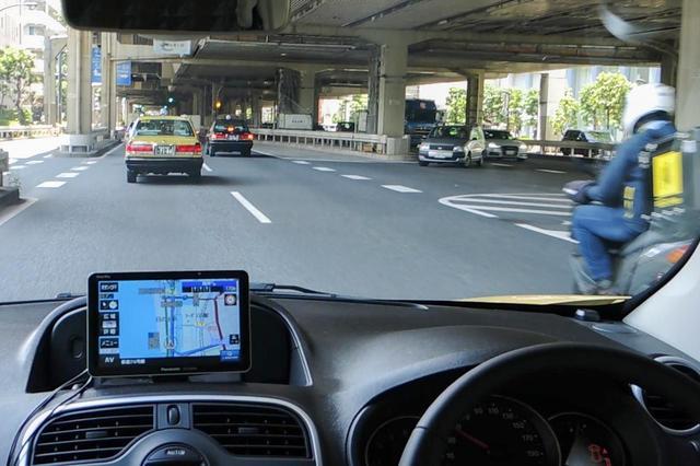 画像: 「Gジャイロ」を搭載して高い自車位置精度を持つゴリラなら、高架下やトンネルなど電波の届きにくいところでも安心。