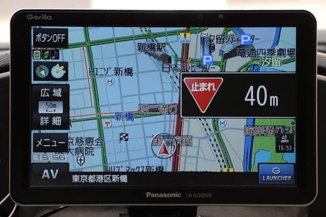 画像: 音声とアイコン表示でお知らせ、さらに一時停止ポイントまでの距離も表示してくれる。