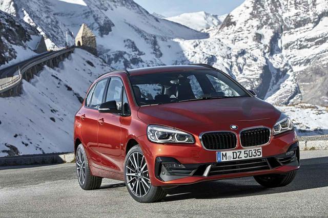 画像: BMW2シリーズ アクティブ ツアラー。