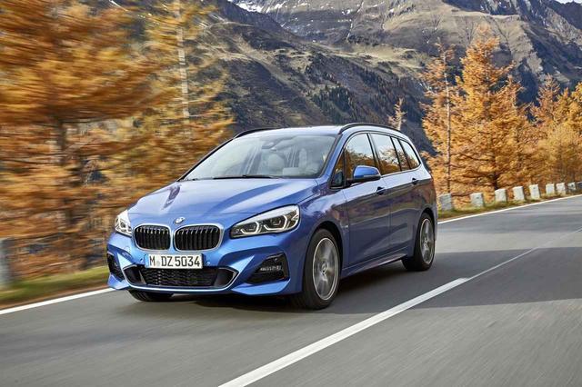 画像: BMW2シリーズ グランツアラー。