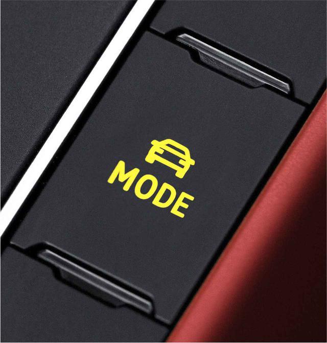 画像: ドライビングプロファイル機能は4つのモードを選択することが可能。