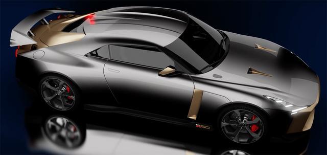 画像: 同イベントでは、日産GT-Rの50周年記念限定車のコンセプトモデルも展示される。