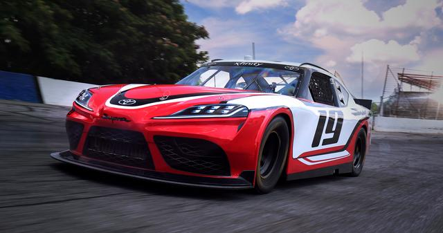 画像: NASCARエクスフィニティシリーズに参戦する新型スープラ。