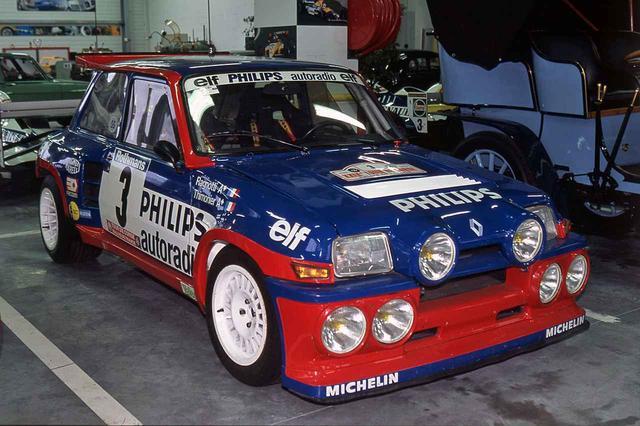 画像: 1980年代のWRC(世界ラリー選手権)で活躍したルノー5ターボの開発にも、アルピーヌは携わっていた。