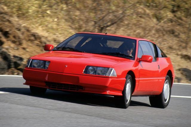 画像: V6ターボは、その名のとおり2.5LのV6ターボを搭載したRRスポーツカーだ(1985年)。