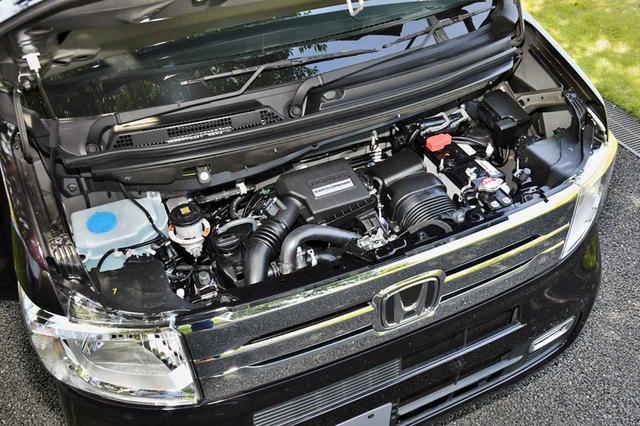 画像: 他のNシリーズにも搭載されて定評のある直3ターボエンジン(写真)と自然吸気版を設定。