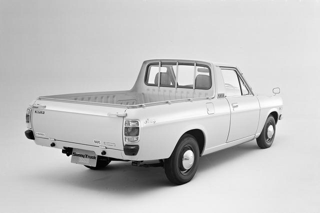 画像: 日産 ダットサン サニートラックのB120型。