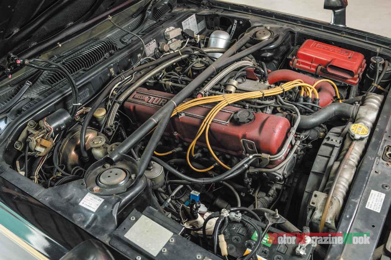 画像: マシンXは「スカGターボ」の呼び名で人気となったターボチャージャー搭載のL20ETエンジンを積む。