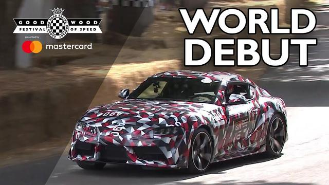 画像: New Toyota Supra makes world debut at FOS youtu.be