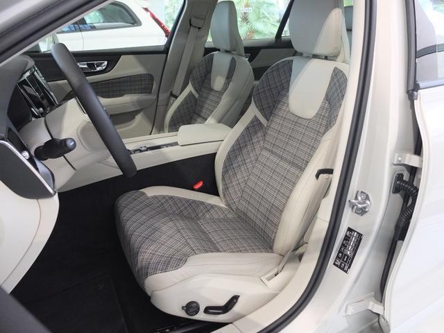 画像: やさしく包み込んでくれるような大柄のシート。ボルボのシートは長距離ドライブでも疲れないという特徴がある。