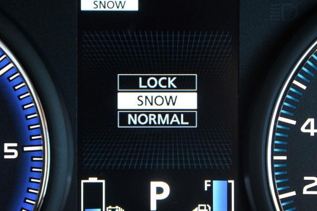画像: 今回新設された「SNOW」モード。